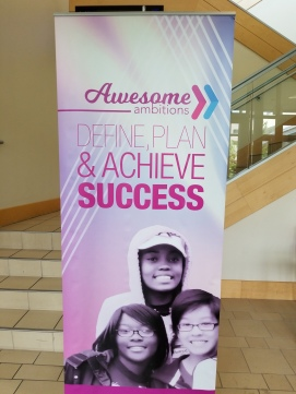 Dr Jackie Gill speech to Awesome Ambitions teens define plan & achieve success Kansas City aubrey owen