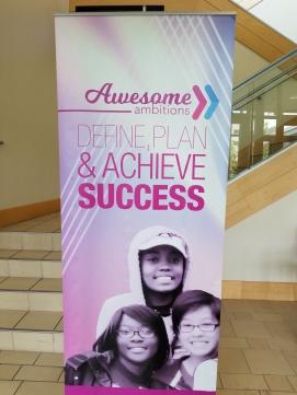 Dr Jackie Gill speech to Awesome Ambitions teens define plan & achieve success Kansas City aubrey owen