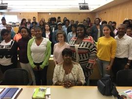 Dr Jackie Gill speech to Awesome Ambitions teens Kansas City mentorship program non profit aubrey owen