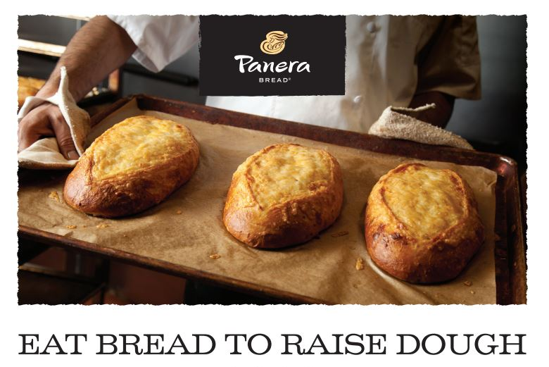 Panera bread fundraiser eat bread to raise dough Awesome Ambitions Kansas City