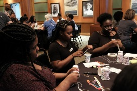 Union Station Event Awesome Ambitions Non Profit fund girls to be empowered by mentor
