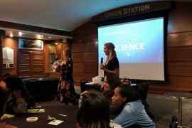 Union Station Event Awesome Ambitions Non Profit fund girls to be empowered by mentors in Kansas City au