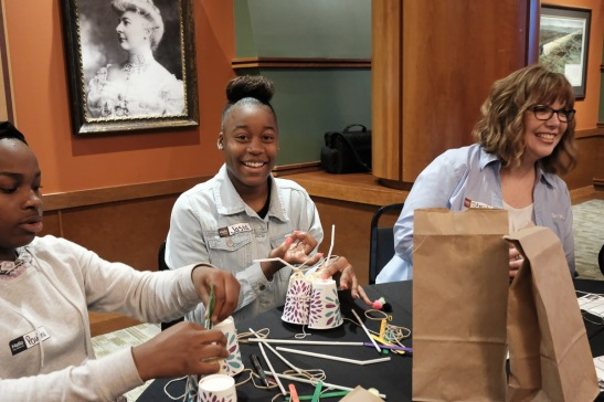 Union Station Event Awesome Ambitions Non Profit fund girls to be empowered KCMO mentors aubrey owen