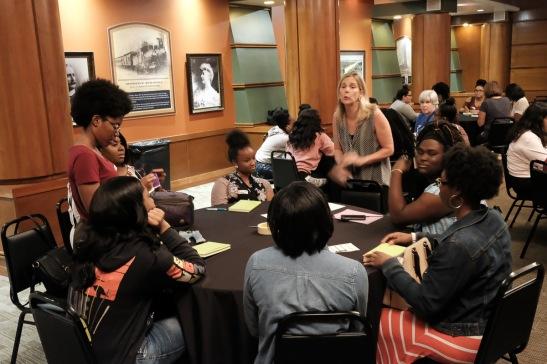 Union Station Field Trip Awesome Ambitions Non Profit Kansas City MO Cynthia Newsome Founded aubrey owen